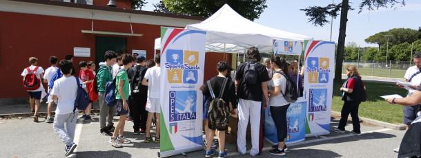 """Sport@Scuola, al """"Giulio Onesti"""" di Roma gli studenti romani praticano lo Sport"""